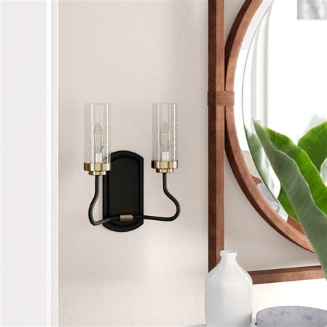 Mayville 2-Light Candle Wall Light