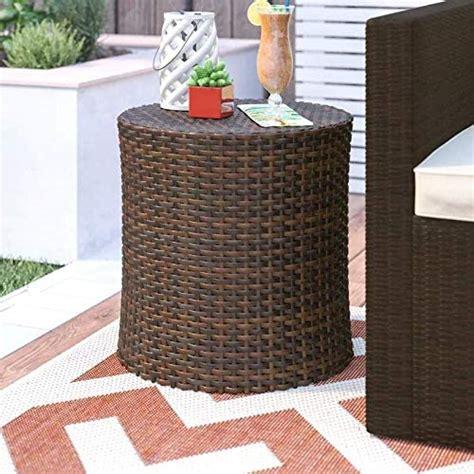 Mazzella Wicker/Rattan Side Table