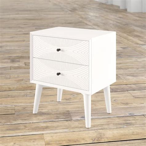 Mcelrath 2 Drawer Nightstand