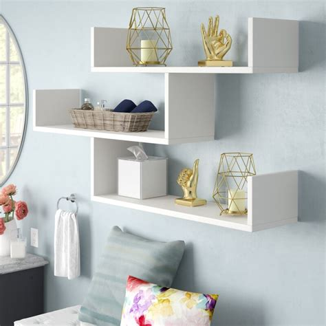 Mckenny Modern Wall Shelf