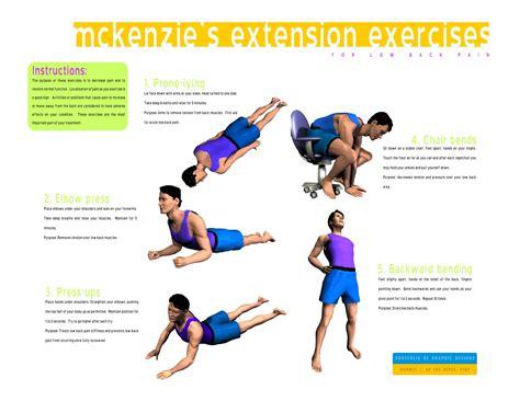 mckenzie exercises for lower back pain pdf