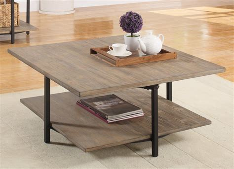 Mcquiston Coffee Table with Magazine Rack