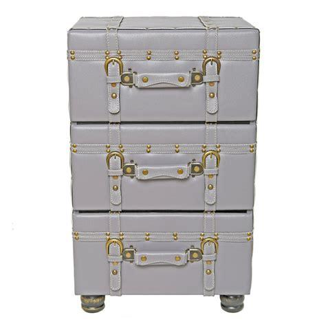 Mederos 3 Drawer Trunk Accent Cabinet