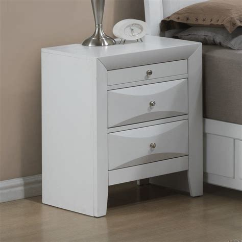 Medford 3 Drawer Nightstand