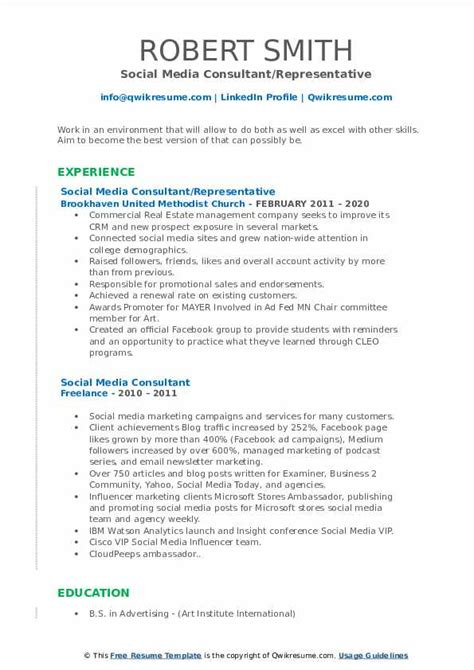 media consultant resume sample 6 resume rules you can ignore list