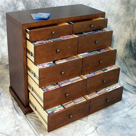 Media Storage Cabinet Plans