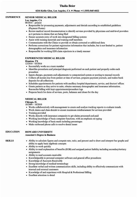 medical biller resume resume examples - Medical Billing Resume Sample