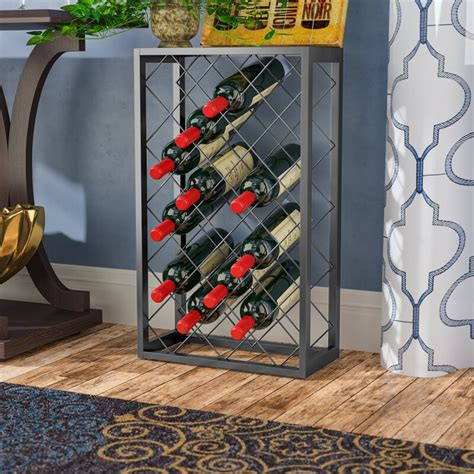 Medlin 23 Bottle Floor Wine Rack
