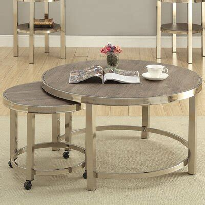 Melendez 2 Piece Coffee Table Set