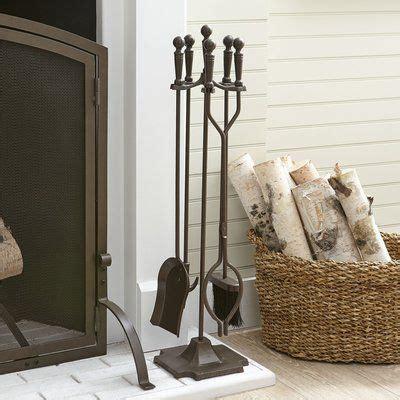 Mendez 4-Piece Fireplace Set