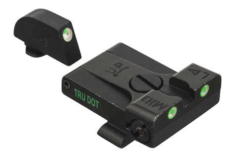 Glock-19 Meprolight Night Sights For Glock 19 Gen 4.