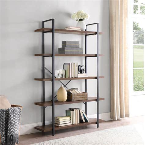 Mertens Wood Etagere Bookcase