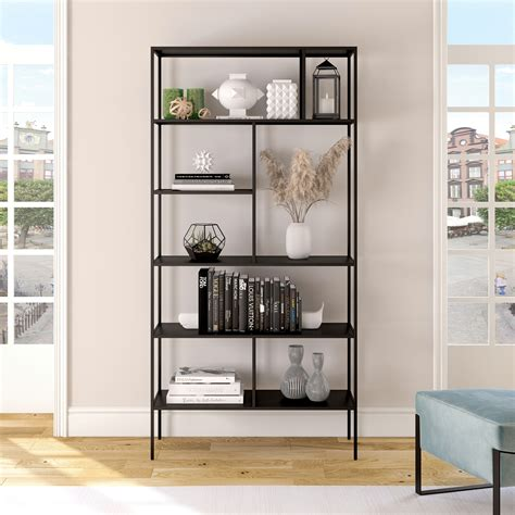 metal tall bookcases