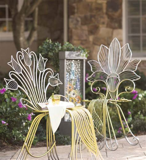 Metal Flower Chair