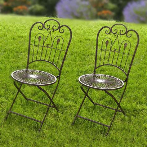 Metal Folding Side Chair (Set of 2)