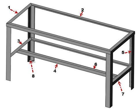 Metal Bench Plans