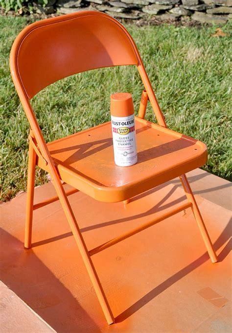 Metal Folding Chair Diy