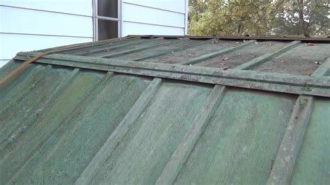 Metal Shed Roof Replacement