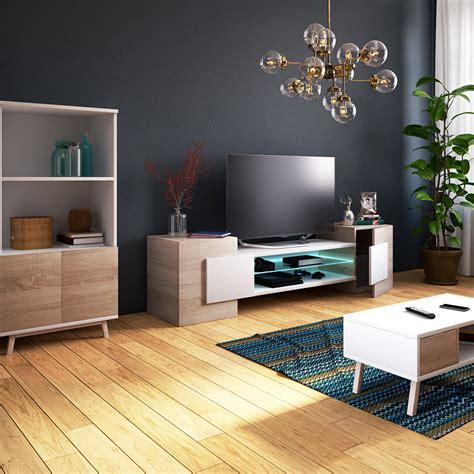 Meuble Tv 130 Cm Blanc Besoin D Un Meuble Tv  Vous Le Trouvez Ici