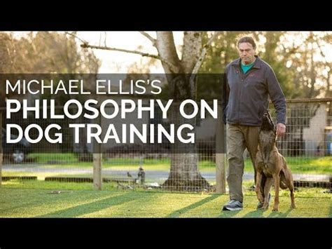 Michael Ellis Philosophy Of Dog Training