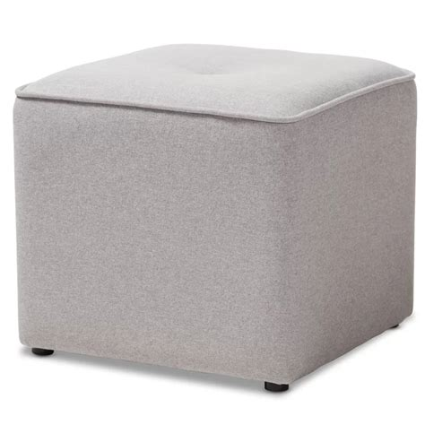 Michels Modern and Contemporary Cube Ottoman