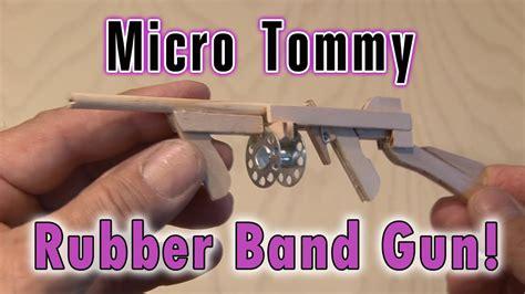 Tommy-Gun Micro Tommy Rubber Band Gun.