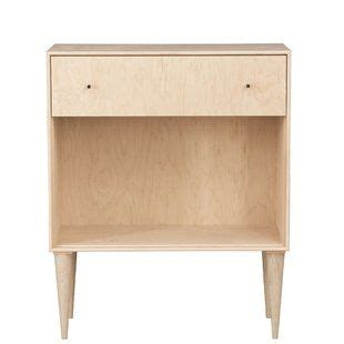 Midcentury 1 Drawer Nightstand By Urbangreen Furniture