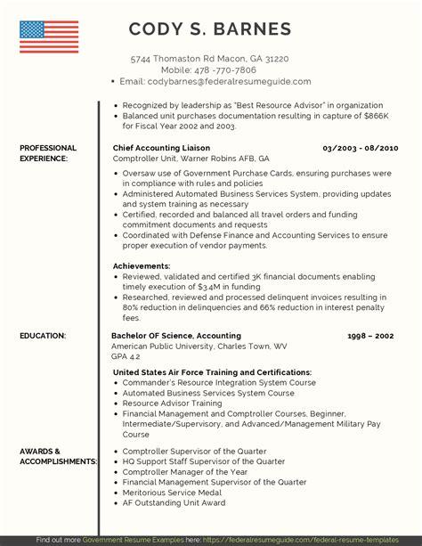 Resume Writing Service Military To Civilian