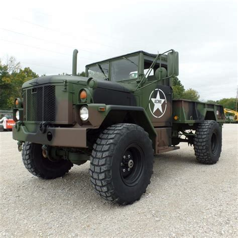 Army-Surplus Military Surplus M35a3 Army Truck For Sale.