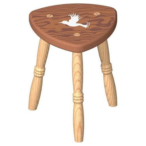 Milking Stool Woodworking Plans
