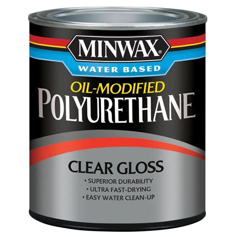 Minwax Water Based Oil Modified Polyurethane