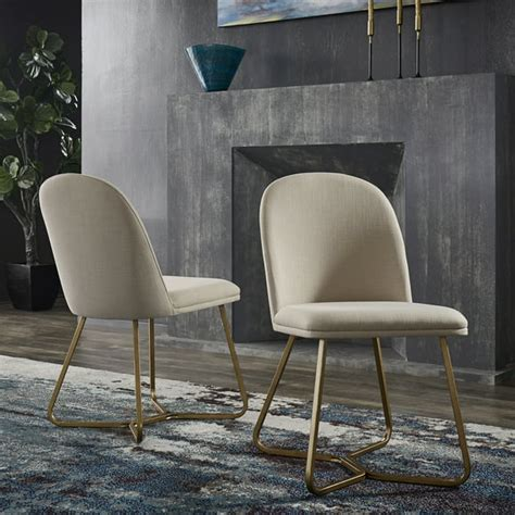 Mirabella Metal Dining Chair (Set of 2)