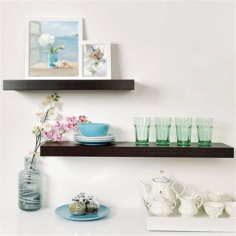 Mission 2 Piece Floating Shelf Set