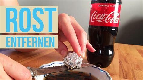 Mit Cola Rost Entfernen