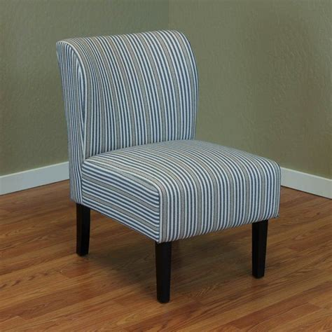 Moa Stripe Upholstered Side Chair