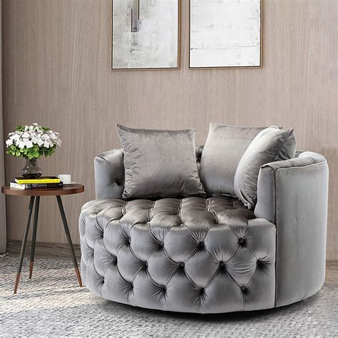 Mod Swivel Barrel Chair