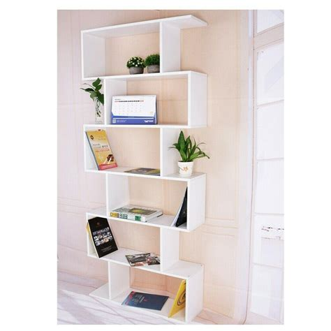 Modern Storage Shelving Unit with Drawers