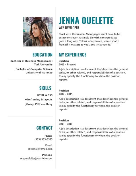 modern technical resume template word cover letter email sample
