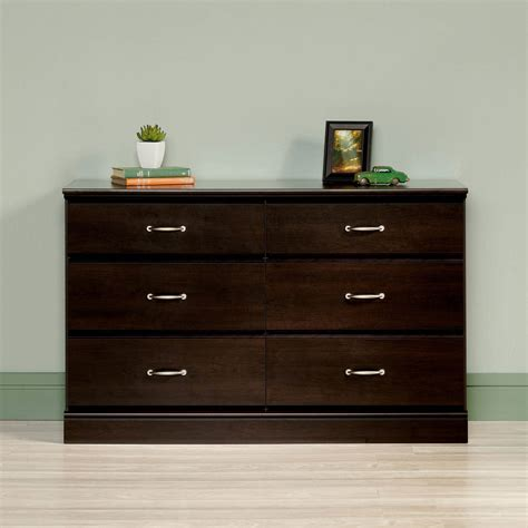 Modern Dresser Espresso Wood