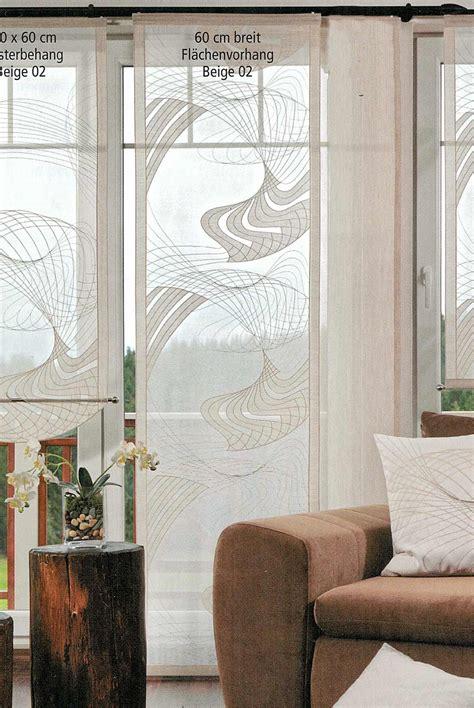 Moderne Scheibengardinen Wohnzimmer