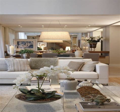 Moderne Wohnzimmer Dekorieren