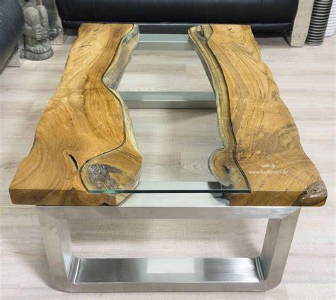 Moderner Couchtisch Holz