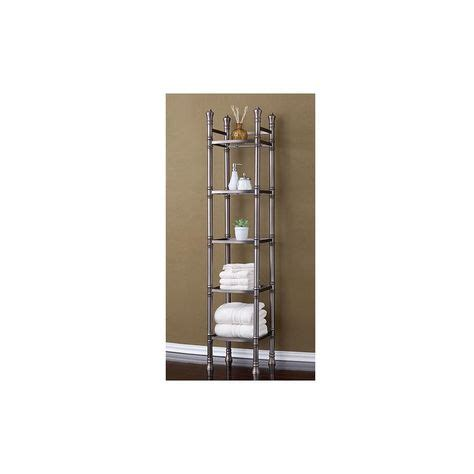 Monaco 14.17 W x 67 H Bathroom Shelf