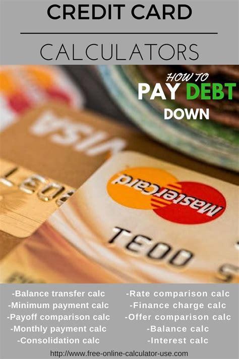 Money Saving Expert Credit Card Interest Credit Card Calculator Money Advice Service