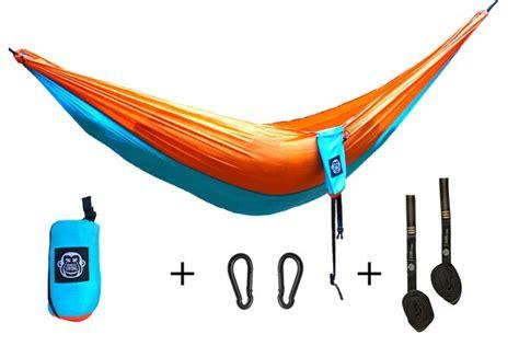 Monkey Swing Hängematte Inkl Aufhängeset I 275 X 140 Cm I Outdoor Travel Trekking Camping Reise Hängematte Garten Strand