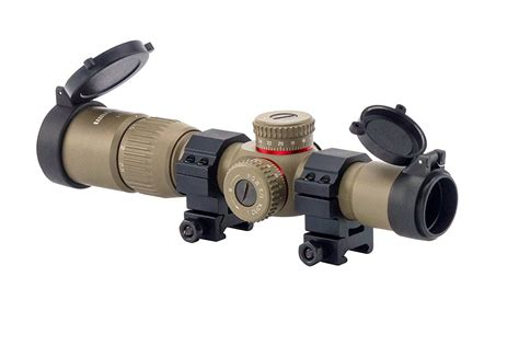 Rifle-Scopes Monstrum Tactical 1.5 4x24 Rifle Scope Review.