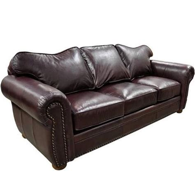 Monte Carlo Leather Sleeper Sofa