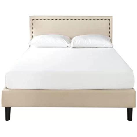Moraal Deluxe Nailhead Trim Upholstered Platform Bed byAlcott Hill