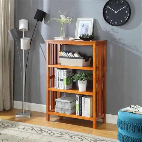 Morais 3-Shelf Standard Bookcase