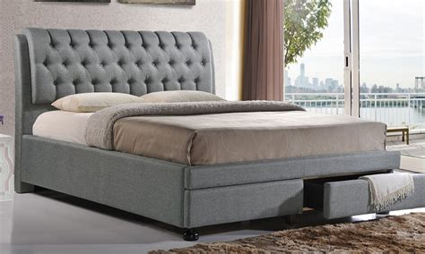 Morgana Upholstered Panel Bed by Mercer41